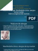 Noțiune de alergie