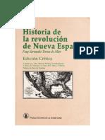 Fray Servando Teresa - Historia de la revolución de Nueva España