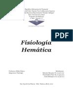 Fisiología Hemática