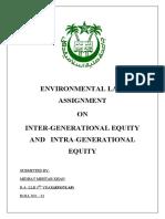environmental law final