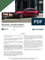 Hyundai garantieheft 2017