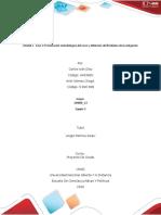 Fase 1 Presentación metodológica del curso y definición del Problema de investigación