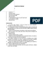 RECETA DE CUPCAKES DE FRESAS - y otros