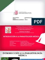 PPT. Clase 1. Introducción a La Parasitología