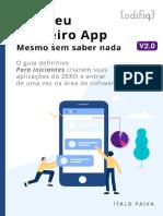 Crie o seu primeiro app - Guia para iniciantes v2.0