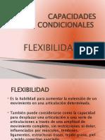 CAPACIDADES CONDICIONALES FLEXIBILIDAD
