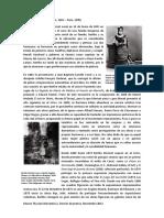 Berthe MORISOT biografia. Documento de Museo Thyssen Bornemiza