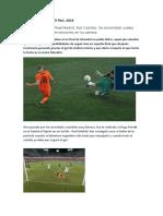 Sobre Iker Casillas, El País, 2014
