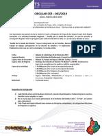 20190228 - Circular CRS-001-19 - Sevilla La Senda del Oriente - Caminata Regional