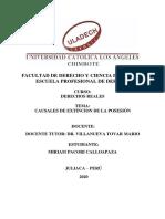 ACTIVIDAD N° 01 CAUSALES DE EXTENSIÓN DE DOMINIO
