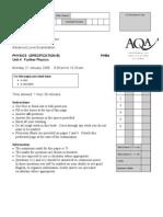 AQA-PHB4-W-QP-JAN08