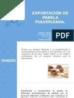 EXPORTACIÓN DE PANELA PULVERIZADA - FINANZAS.pptx