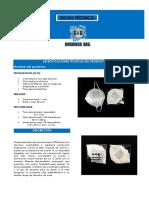 ESPECIFICACIONES TÉCNICAS DEL PRODUCTO N95 PDF