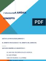0 - Concepto de Psicología Jurídica.pptx