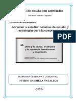TÉCNICAS DE ESTUDIO Y ESTRATEGIAS- OVIEDO GABRIELA 2020.pdf · versión 1
