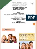 9) GENERALIDADES DEL CUIDADO DE ENFERMERIA EN EL ADULTO Y ADULTO MAYOR