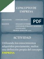 1. Definicion de Empresa