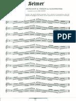Saxophone Full Range Scales
