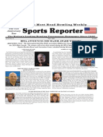 May 7, 2020  Sports Reporter