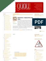 GUAU-activismoactivo-empecemosporcasa