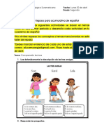 Taller de repaso Español. 2° segudno Listo..pdf