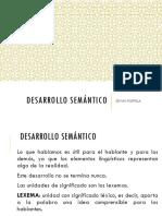 desarrollo semántico