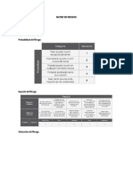 Matriz de Riesgos y Garantías