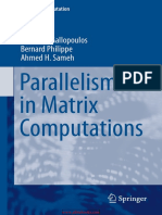gallopoulos_Parallelism in Matrix Computations