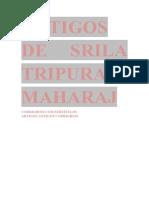 ARTIGOS TRIPURARI MAHARAJ - PORTUGUÊS