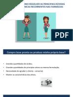01 - QUAIS SÃO E COMO RESOLVER AS PRINCIPAIS DÚVIDAS FARMACOTÉCNICAS RECORRENTES NAS FARMÁCIAS LUCAS.pdf