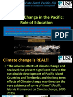 Climate Change in the Pacific