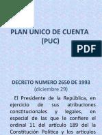 PLAN UNICO DE CUENTA (PUC) PRESENTACION.ppt