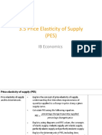 3.5 Price Elasticity of Supply RS