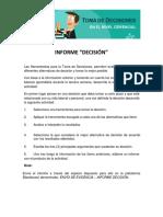 Actividad 3 INFORME Decisión