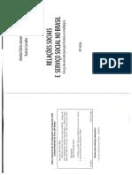 Relações Sociais e Serviço Social no Brasil - Capítulo 1