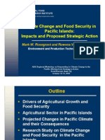 Climate Change and Food Security in Pacific Islands