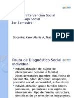 Instrumentos metodológicos de la Intervención Social (Diagnóstico Social)