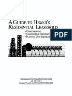 A Guide To Hawaii's Residential Leasehold