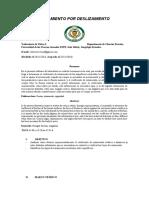 informe lab 4 Rozamineto por deslizamiento s