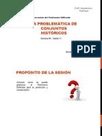 Semana 06 - Problematica Centros Históricos