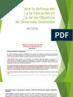 TALLER DERECHO A LA EDUCACIÓN - MI CEFE