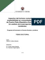 tesis doctoral turismo sostenible