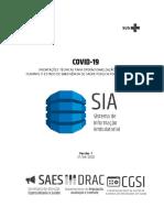 CGSI -  SIA Orientação para COVID-19