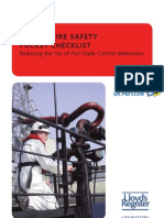 Lloyd's Register Marine Fire Safety Pocket Checklists