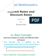 Interest Rates and Dsicount rate.pptx