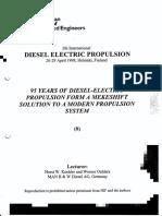 MAN B&W Diesel Electric Propulsion