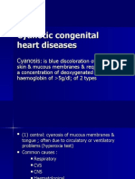 Cyanotic Congenital Heart Diseases