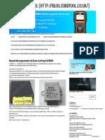 Manual completo del programador de llaves CarProg BMW - Blog de EOBDTOOL