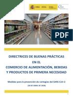 Directrices de buenas prácticas en Sector comercio