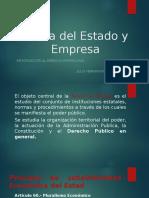Teoría del Estado y Empresa